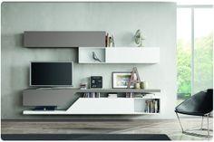 SOGGIORNI MODERNI, SOGGIORNO DESIGN, MADIE MODERNE  TV - parede TV ...