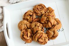 Sugarfree and yummy cinnamonrolls.