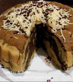 Just Try & Taste: Cake Kukus Pisang Coklat Keju