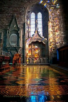 St. Mary's Collegiate Church in Youghal, co Cork, Ireland