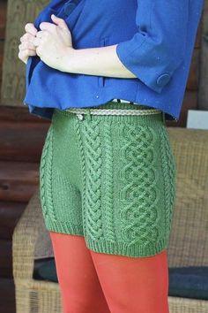Bombshell Shorts - Knitting Patterns and Crochet Patterns from KnitPicks.com $5.99 - $18.00