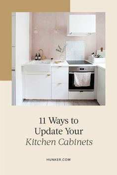 If your kitchen is in dire need of a refresh, the perfect place to start is with new cabinets that will instantly update your look. Here are 11 styles that will spice up your kitchen and give it a much-needed facelift. #hunkerhome #kitchen #kitchencabinets #kitchencabinetupdates #kitchencabinetideas Cabinets To Go, Ikea Cabinets, Blue Cabinets, White Kitchen Cabinets, Glass Cabinet Doors, New Cabinet, Kitchen Renovation Inspiration, Stainless Steel Cabinets, Neat And Tidy