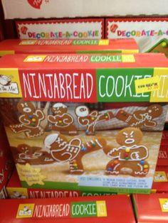 Christmas Ninjabread Cookie Kit