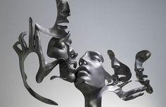 Dissolving Figurative unique sculptures   I Lobo You   Boca do Lobo's inspirational world   Exclusive Design   Interiors   Lifestyle   Art   Architecture   Fashion