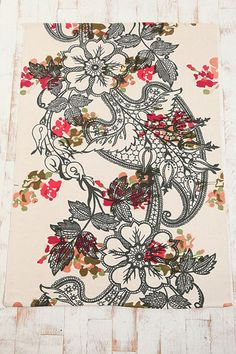 Floral Lace Rug ~ Urban Outfitters
