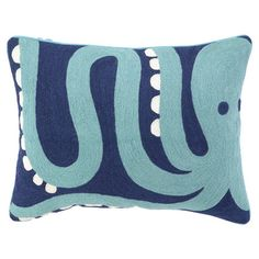 I pinned this Octopoda Pillow from the Seaside Chic event at Joss and Main!
