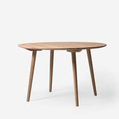 In a desire to design a table that blends into a space without taking up much space, Sami Kallio created the In Between Table. A partner to his In Between Chair, the legs of the table echo the same angle as the front legs of the chair. At the same time, the table's slim silhouette and absence of ornamentation make it an ideal match for any chair in any setting. The In Between Table is a mix of traditional wood craftsmanship, involving compression moulding and woodturning, together with…