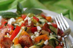 Zucchini hot salad and chicken | paleo Dinner recipes |   Ingredients:      � 1 tbsp oregano