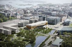Gallery of Helsinki Central Library Winning Proposal / ALA Architects - 1