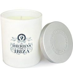An exquisite natural candle that opens your home to the spirit of Ibiza. A gesture as simple as lighting a candle can completely transform a place and turn it into a paradise of heady aromatic fragrances. Shop it now at Beautyhabit! Natural Candles, Perfume, Orange Blossom, Ibiza, Fragrance, Simple, Herbs, Ibiza Town