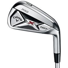ad402bcb7a9 Callaway X Hot Pro 4-Pw Aw Iron Set Reg Steel Project X Flighted 95