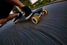 Capture Objects on the Move: 77 Awesome Panning Photography Ideas Panning Photography, Motion Blur Photography, Narrative Photography, Photography Projects, Photography Tips, Panning Shot, Blur Image, Longboarding, Photo Wall Collage