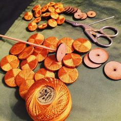 Making Deaths-Head buttons here at #PinsentTailoring for a Regency tailcoat…