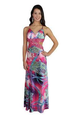 beaded charmeuse prom dress