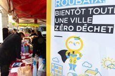 La ville de Roubaix a proposé à une centaine de familles de réduire leurs détritus de 50 %. (Crédit : DR)