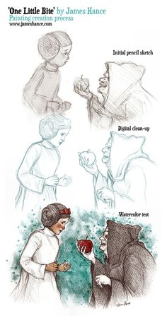 One little bite, James Hance.  Lucasfilm/Disney