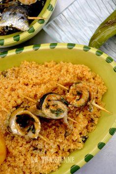 Couscous aux sardines | La Tunisienne