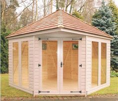 Corner summer houses | Corner Summer Houses- Purewell Timber Buildings Ltd