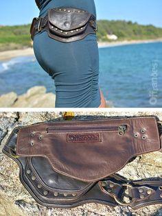 Leather Utility Hip Belt B2B.Br _High Quality от offrandes на Etsy