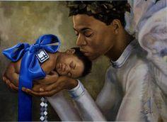 Black Angel Art - Heaven Sent (Boy) - Henry Battle