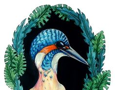 """Check out new work on my @Behance portfolio: """"Kingfisher"""" http://be.net/gallery/54817157/Kingfisher"""