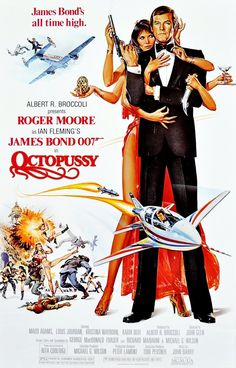 10 BEST JAMES BOND MOVIE POSTERS OF ALL TIME – 40FATHOMS