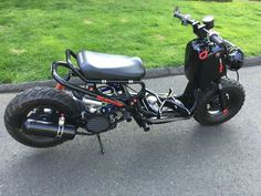 Honda Ruckus 2015 Scooter Custom 6.5 Stretch & Much More