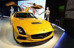 The SLS AMG Black Series represents Couture at Mercedes-Benz Fashion Week
