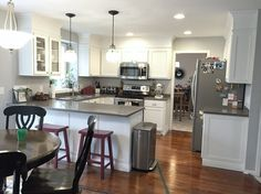 I have been working so hard on this kitchen and it has taken a lot of time and energy to push this thing out, but I've done it and I'm ready to show it off. This is what i…