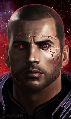 ME art,фэндомы,ME персонажи,Shepard,Commander Shepard