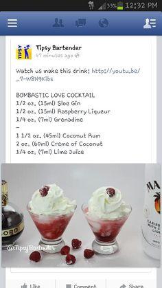 Bombastic love cocktail