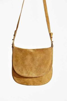 BDG Minimalist Suede Crossbody Bag - Urban Outfitters