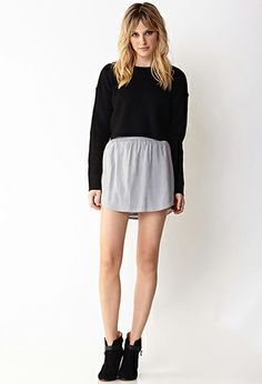 Modernist Mini Skirt | FOREVER 21 - 2000090658 #F21Crush