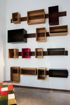 TOUCH questa immagine: A moveable shelving system designed by architect and cabi... by FvF