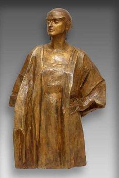 xawery dunikowskai, amerykanka I, 1915-16, gips