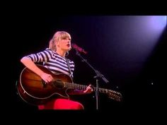 Sparks Fly (acoustic) Live on the RED Tour!
