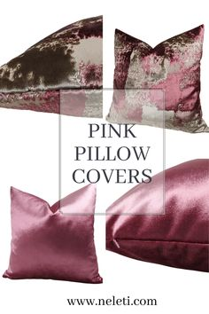 Pink Pillow Covers Pink Pillow Covers, Pink Pillows, Velvet Pillows, Cushion Covers, Throw Pillows, Toss Pillows, Pink Pillow Cases, Pink Throw Pillows, Pillow Covers