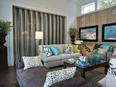 Traditional Living-rooms from Linda Woodrum on HGTV