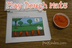Play-dough Busy Bag Ideas