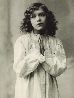 Mary Pickford as a young actress