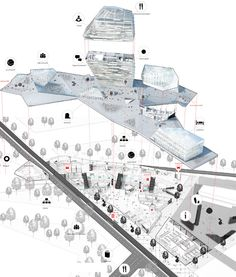Urban Porosity - NAS architecture Architecture Mapping, Architecture Graphics, Architecture Board, Architecture Drawings, Architecture Portfolio, Concept Architecture, Architecture Design, Architecture Diagrams, Architecture Presentation Board