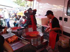 Pastel de feira (making)