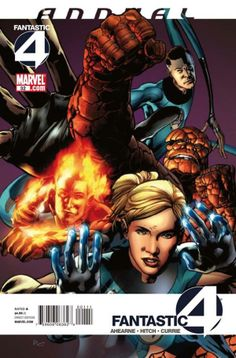Fantastic Four Annual # 32 by Bryan Hitch