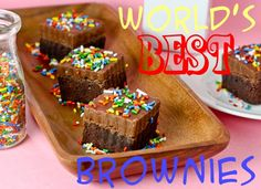 brownies by cookbookqueen, every recipe of hers is AMAZING....