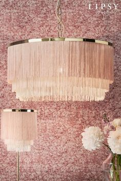 Buy Lipsy Clarissa Easy Fit Pendant from the Next UK online shop Pottery Barn Hacks, Mint Decor, Old Room, Gold Bedroom, Gold Light, Pink Room, Lipsy, Light Shades, Lampshades