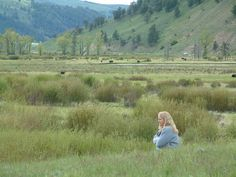 Me enjoying the absolute beauty of the Lamar Valley in Yellowstone Nat'l Park.  It's one of my favorite places in the world!