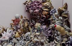 Ceramics, Ceramics, Susan Beiner, Artist, Rather Than Obliquely Encoded (detail)