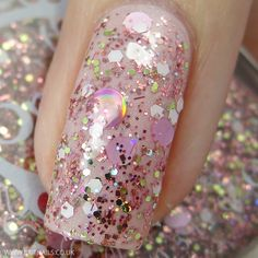 Spell Polish Shake It Like A Polaroid Picture http://www.britnails.co.uk/2015/03/spell-polish-swatches-and-review.html