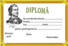 Lumea lui Scolarel...: Diplome Mihai Eminescu Picture Finder, Alphabet, Classroom, Punisher, School, Arizona, Desktop, Pictures, Printables