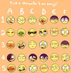 Emoji Meme by Tiny-Forest-Prince Expressions Drawing Meme, Drawing Sketches, Art Drawings, Expression Challenge, Drawing Challenge, Drawing Reference Poses, Drawing Poses, Drawing Ideas, Drawing Tips